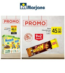 Promos de Supermarchés dans le prospectus à Marjane Market ( 3 jours de plus)