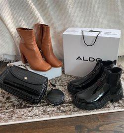 Promos de Vetêments, chaussures et accessoires dans le prospectus à Aldo ( 18 jours de plus )
