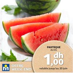 Promos de Supermarchés dans le prospectus à Marjane ( Expire demain)