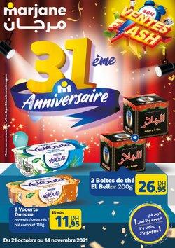 Promos de Supermarchés dans le prospectus à Marjane ( 22 jours de plus)