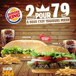 Burger King coupon ( Expiré )