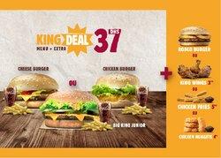 Promos de Restaurants dans le prospectus à Burger King ( 6 jours de plus)