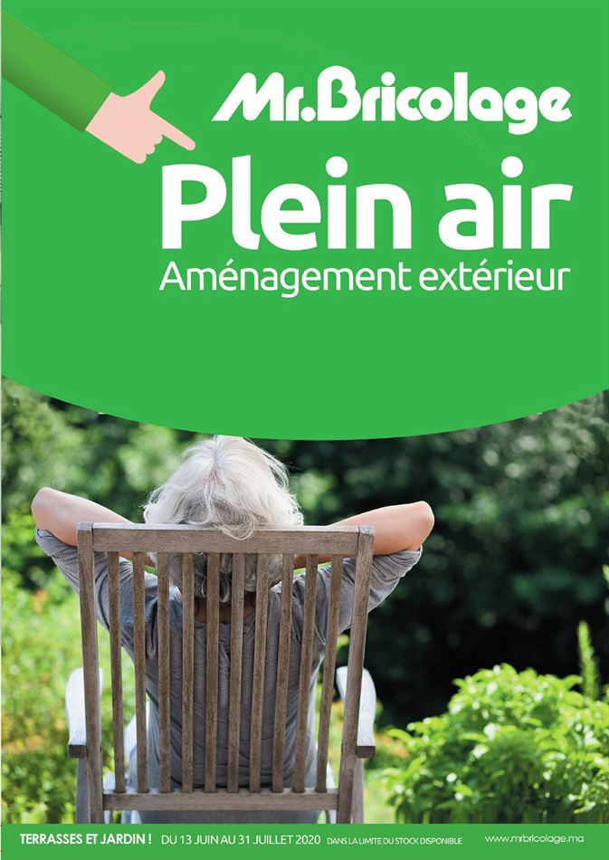 Catalogue Plein air Mr Bricolage 04/07/2020 AU 31/08/2020