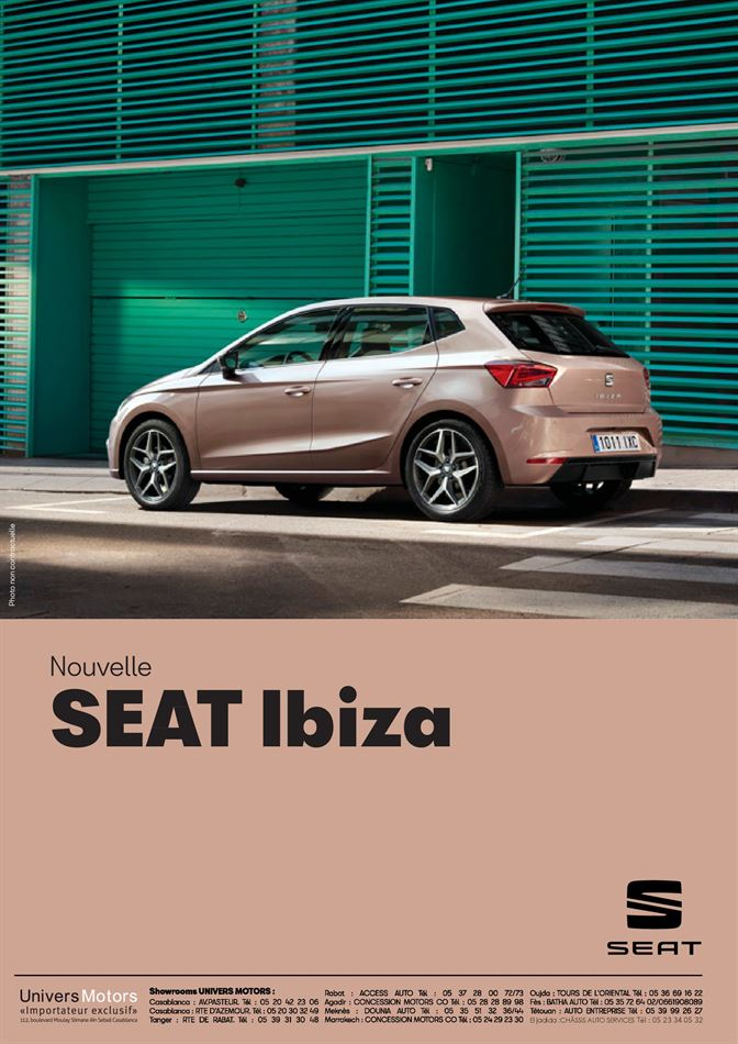 Catalogue Nouvelle Seat Ibiza Promotion 31/03/2020 AU 06/10/2020