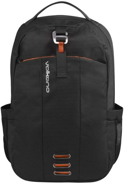 Sac à Dos VOLKANO Latitude series /Noir - Orange /Pour PC portable offre à 399 Dh