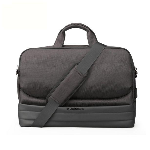 """Sacoche  KINGSONS Smart Bag /15.6"""" /Noir offre à 490 Dh"""