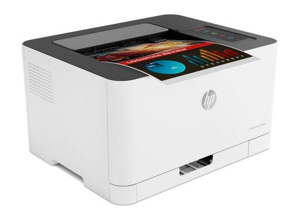 Imprimante HP Laser 150nw /Impression /Couleur /18 ppm Noir - 4 ppm Couleur /600 x 600 ppp /64 Mo /USB - WiFi /A4 offre à 2508 Dh