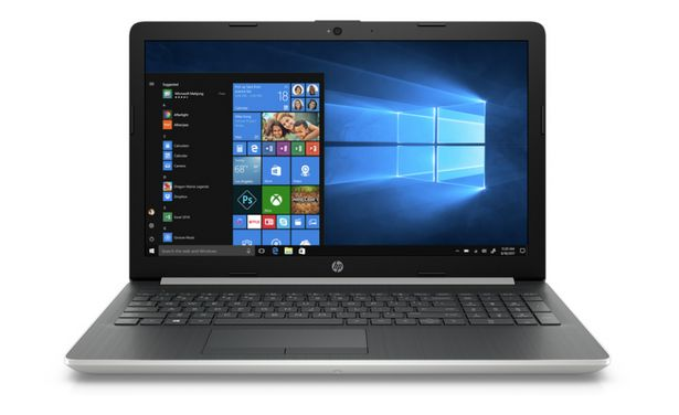"PC Portable HP 15 /i7-10510U /1.8 GHz /8 Go /1 To /Silver /15.6"" /NVIDIA GeForce MX130 - 2 Go /Windows 10 Home 64 offre à 8499 Dh"