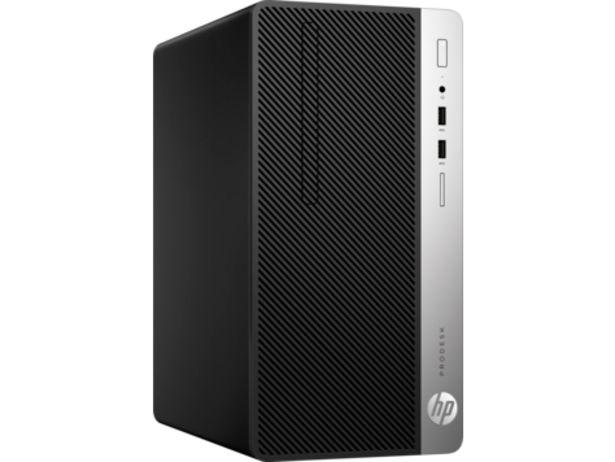 """PC de Bureau HP 400 G5 MT /i7-8700 /4 Go /500 Go /FreeDos + Ecran 20.7"""" offre à 8890 Dh"""