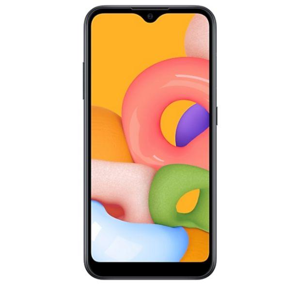 "SAMSUNG Galaxy A01 /Noir /5.7"" /720 x 1520 (HD+) /PLS TFT LCD /Octa-Core /5 Mpx - 13 + 2 Mpx /2 G o /16 Go /Android /3000 mAh offre à 999 Dh"