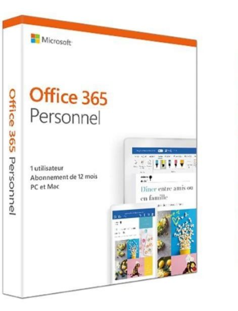 Microsoft 365 Personal French Subscr Africa Only Medialess P6 /1 an offre à 708 Dh