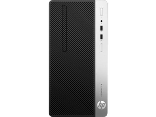 """Ordinateur de bureau HP Microtour 400 G6 /i7-8700 /4 Go /1 To /FreeDos + Ecran 20.7"""" offre à 8988 Dh"""