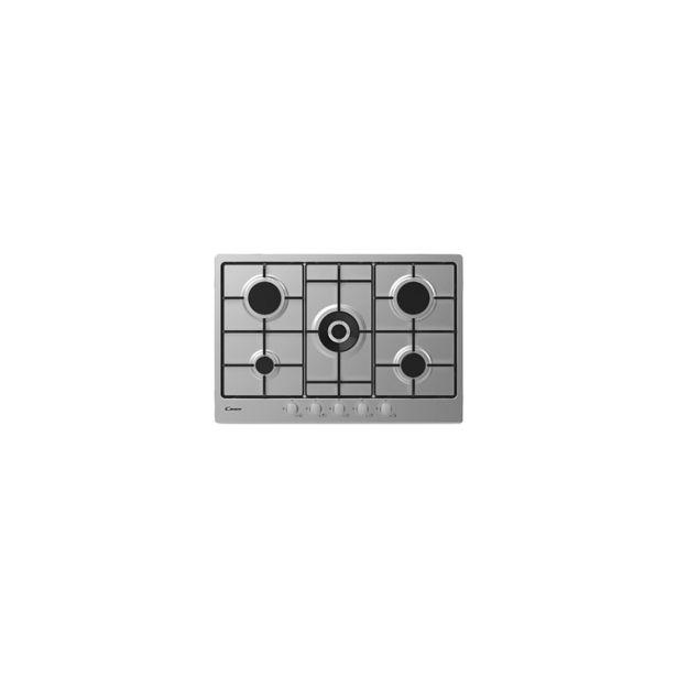 Table de cuison 75CM 5F GRILLE EMAILE CHW74WX INOX CANDY offre à 2399 Dh