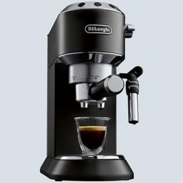 Machine à café pression ec685 black offre à 1999 Dh