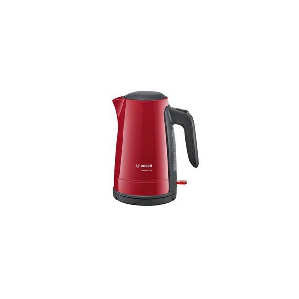 Bouilloire  2400W 1,7L ROUGE TWK6A014 Bosch offre à 449 Dh