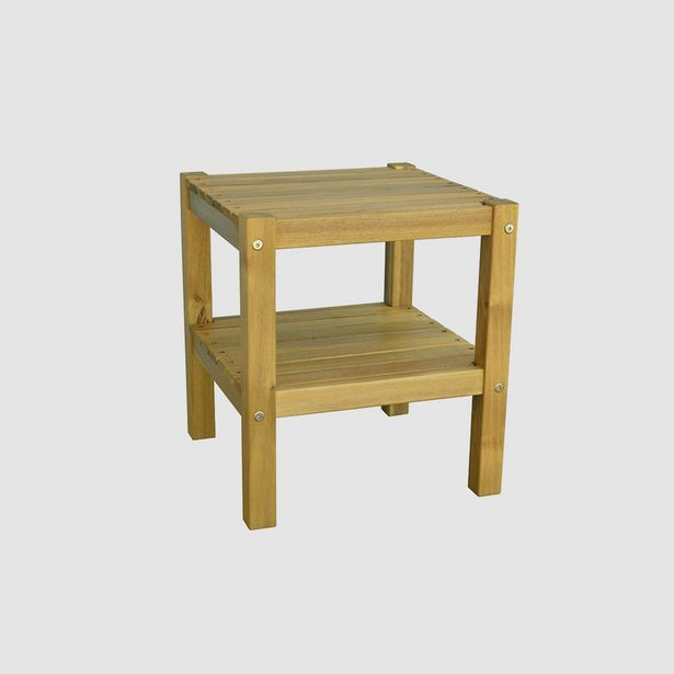 TABLE BASSE ACACIA 40X40X45CM offre à 639 Dh