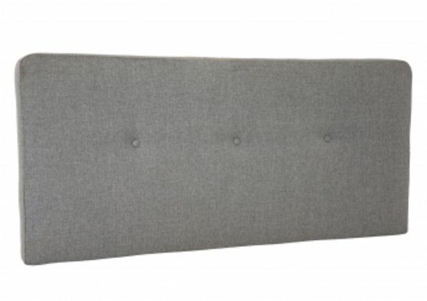 Tête de lit MORGAN 145*65 - Gris clair offre à 895 Dh