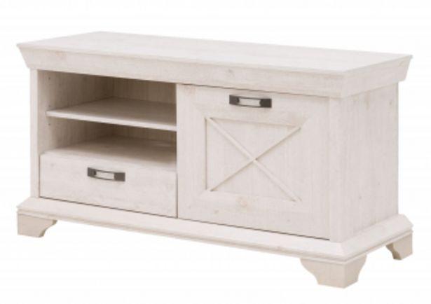Petit meuble TV KASHMIR - Blanc offre à 1395 Dh