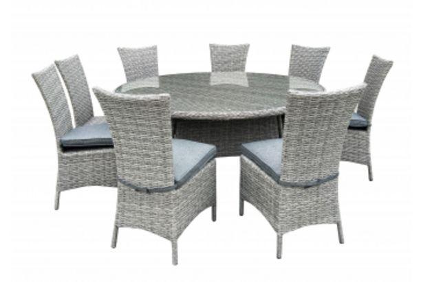 TABLE RONDE RONDO Gris offre à 3999 Dh
