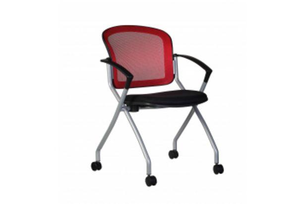 Chaise CAMILLE Rouge offre à 595 Dh