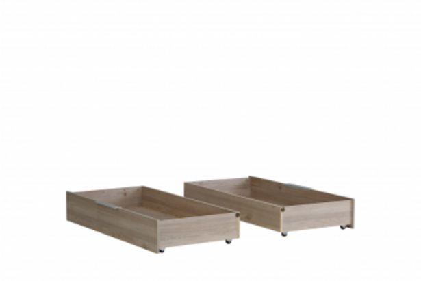Set de 2 tiroirs ESPORAO offre à 850 Dh