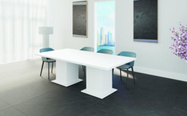 Table de réunion MORENO - Blanc offre à 5399 Dh