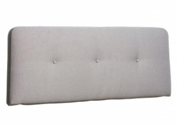 Tête de lit MORGAN 165*65 - Gris clair offre à 995 Dh