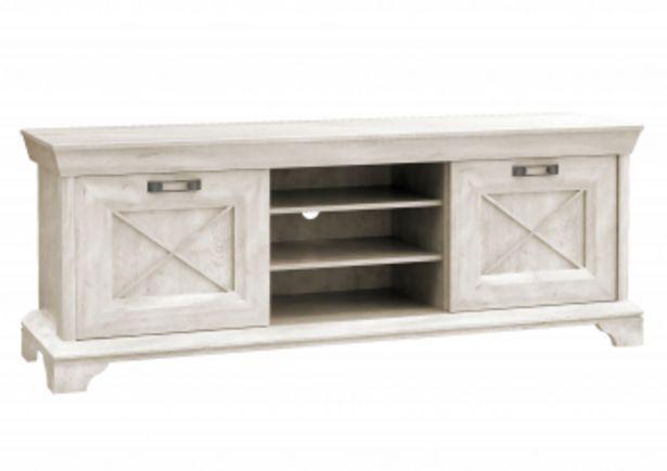 Grand meuble TV KASHMIR - Blanc offre à 1750 Dh