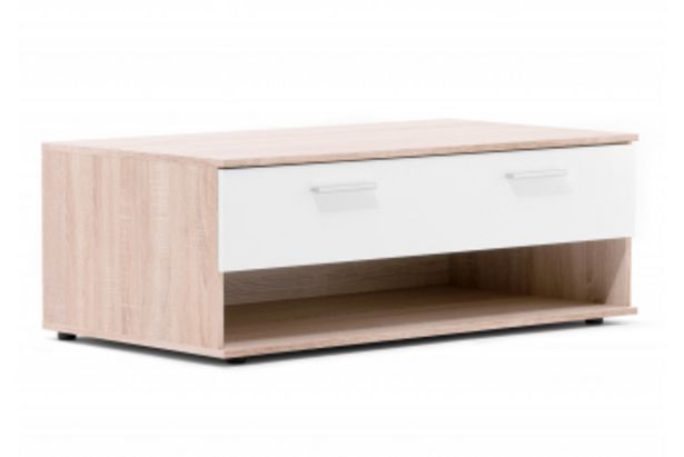 Table basse LUND Blanc offre à 1195 Dh