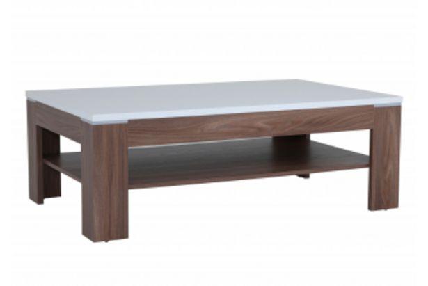 Table basse SAINT TROPEZ Marron et Blanc offre à 1495 Dh