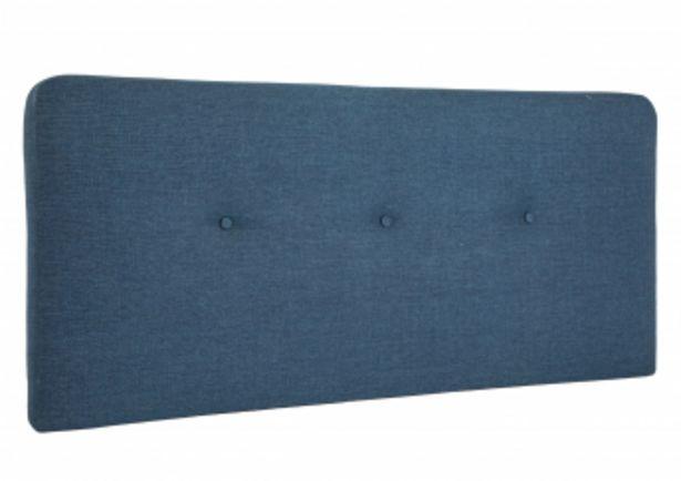 Tête de lit MORGAN 145*65 - Bleu offre à 895 Dh