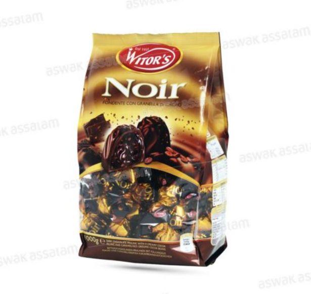 ASSORTIMENT DE CHOCOLATS NOIRS 250G WITOR'S offre à 47 Dh
