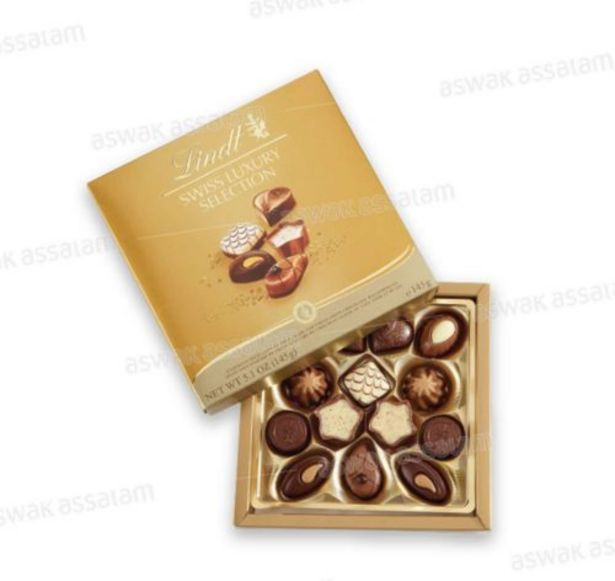 ASSORTIMENT DE CHOCOLATS SWISS LUXURY SELECTION 145G LINDT offre à 133,95 Dh