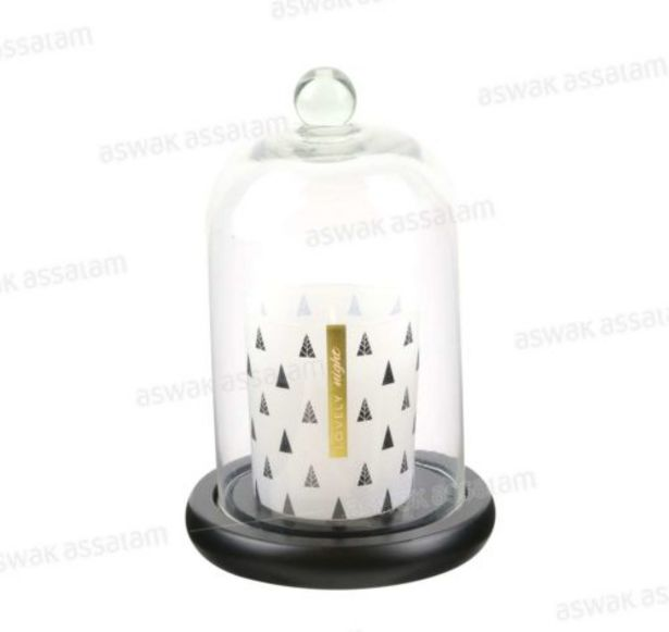 BOUGIE PARFUMEE SOUS CLOCHE, LOVELY NIGHT offre à 45,95 Dh