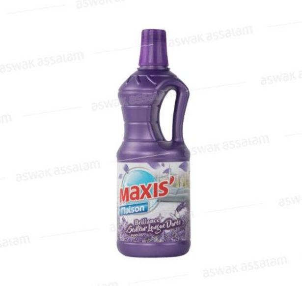 NETTOYANT SOL LAVANDE 1L MAXI'S offre à 10,95 Dh