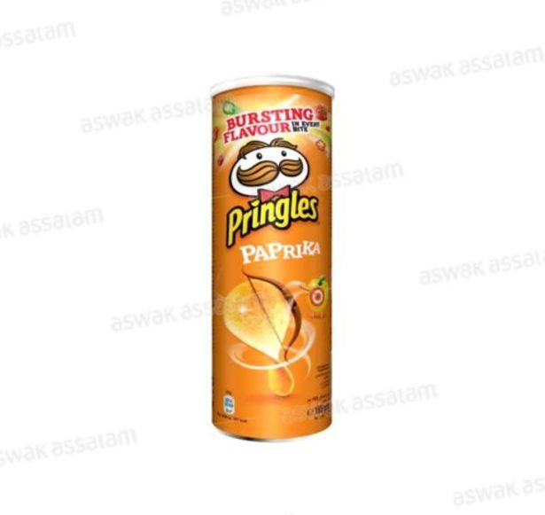 PRINGLES PAPRIKA 165G offre à 17,95 Dh