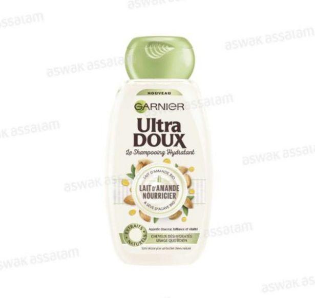 SHAMPOOING AU LAIT D'AMANDE 400ML ULTRA DOUX GARNIER offre à 35,95 Dh