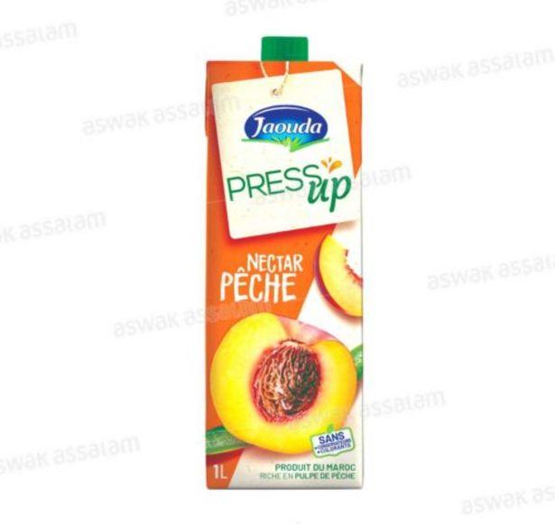 NECTAR PECHE 1L PRESS UP JAOUDA offre à 10,9 Dh