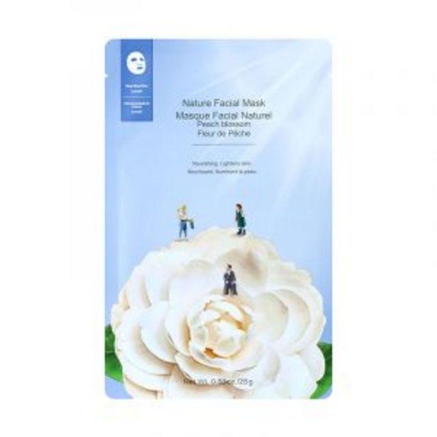 Masque facial nature (fleur de pêche) offre à 12 Dh