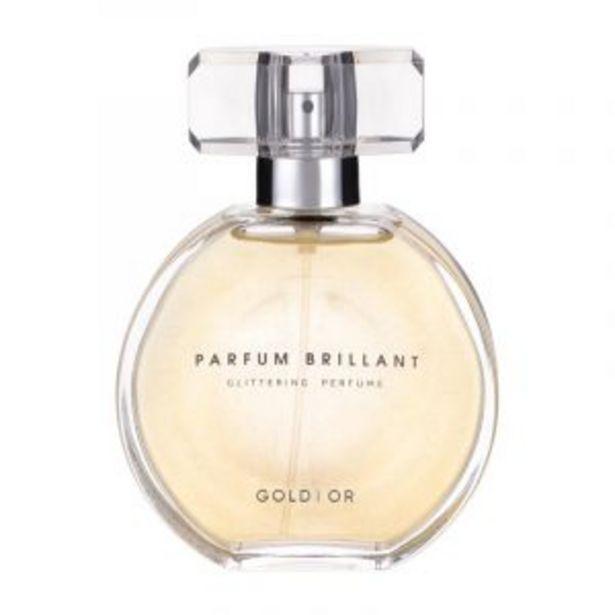 Parfum pour femme scintillant(Or) offre à 99 Dh
