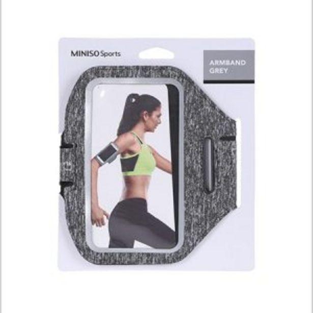 Miniso Sport-Bande de bras de sport (gris) offre à 59 Dh