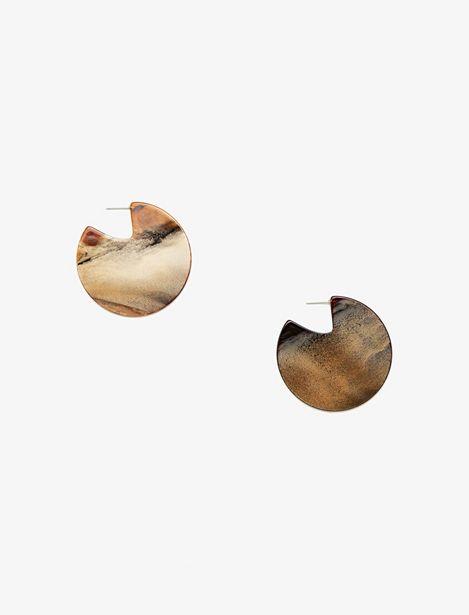 Metallic Earings offre à 29,99 Dh