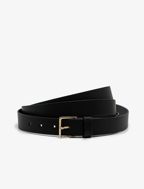 Leather Look Belt offre à 29,99 Dh