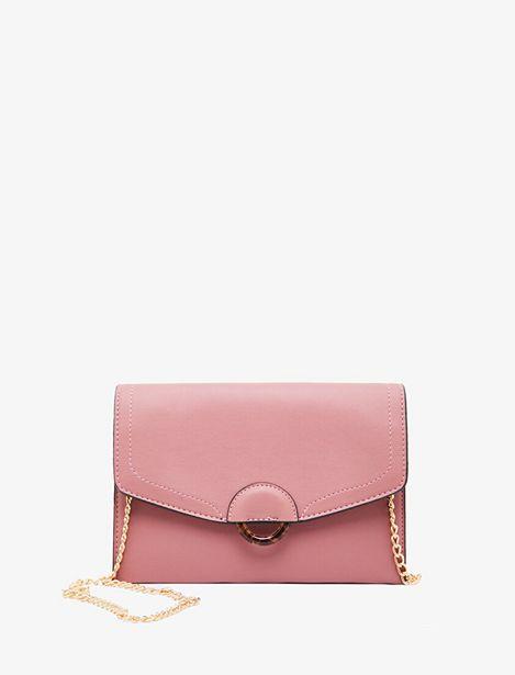 Leather Look Shoulder Bag offre à 64,99 Dh