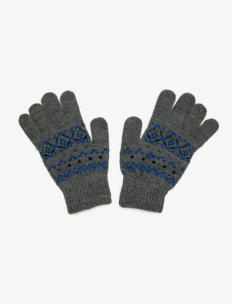 Patterned Gloves offre à 29,99 Dh