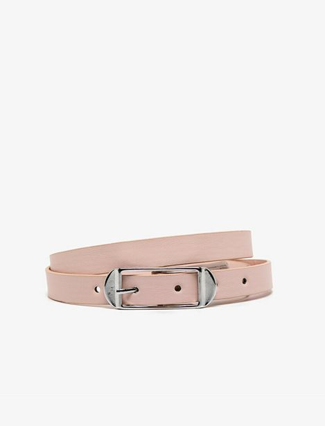 Leather Look Belt offre à 19,99 Dh