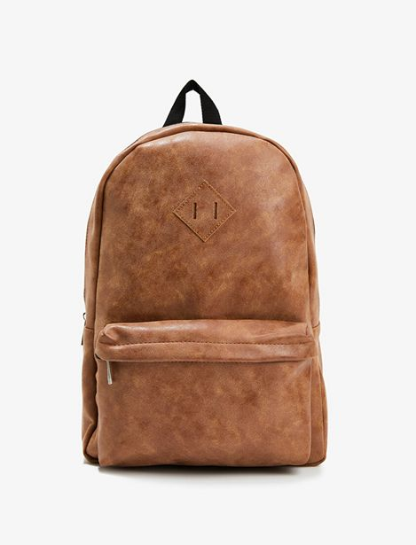 Zipper Detailed  Backpack offre à 55,99 Dh