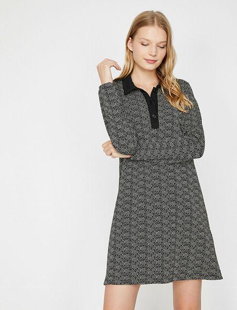 Patterned Dress offre à 63,99 Dh