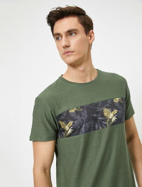 Patterned T-Shirt offre à 27,99 Dh