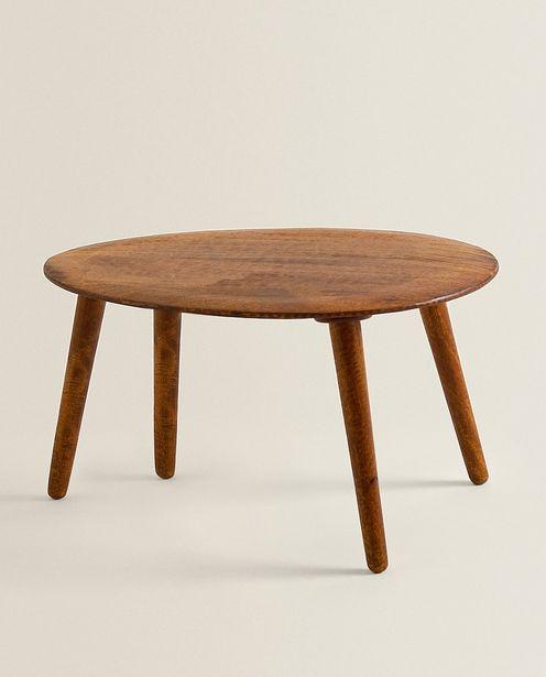 Table En Bois Biseauté offre à 1399 Dh